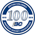BC Hockey 100 Year.